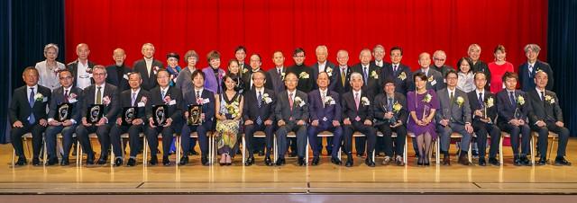 日本ファッション協会表彰式「記念撮影」