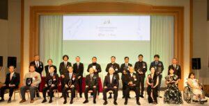 受賞者集合写真・日本ファッション協会表彰式(第18回シネマ夢倶楽部表彰)