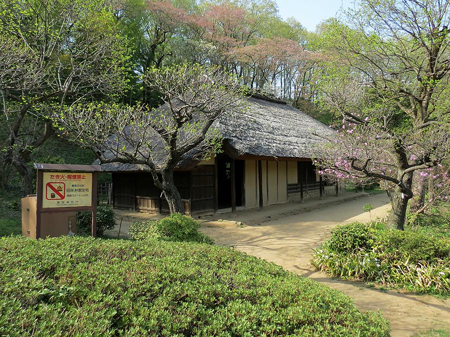 """私の好きな""""かたちと風景"""" ⑲町田薬師池公園と古民家"""